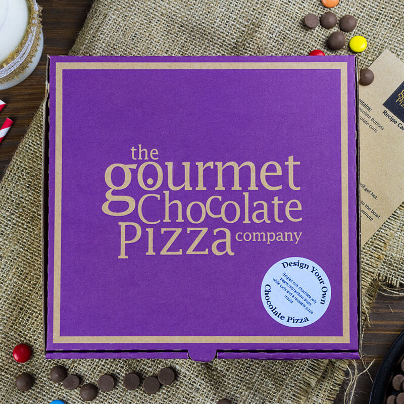 Make Your Own Chocolate Pizza