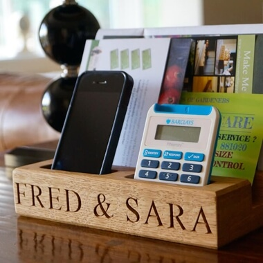 Personalised Phone & Tablet Holder