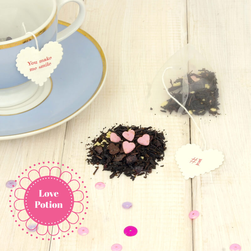Personalised 10 Teas I Love About You