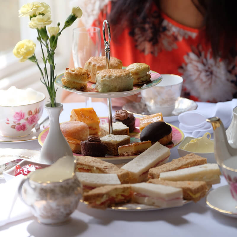 Windsor Castle and Cream Tea for Two