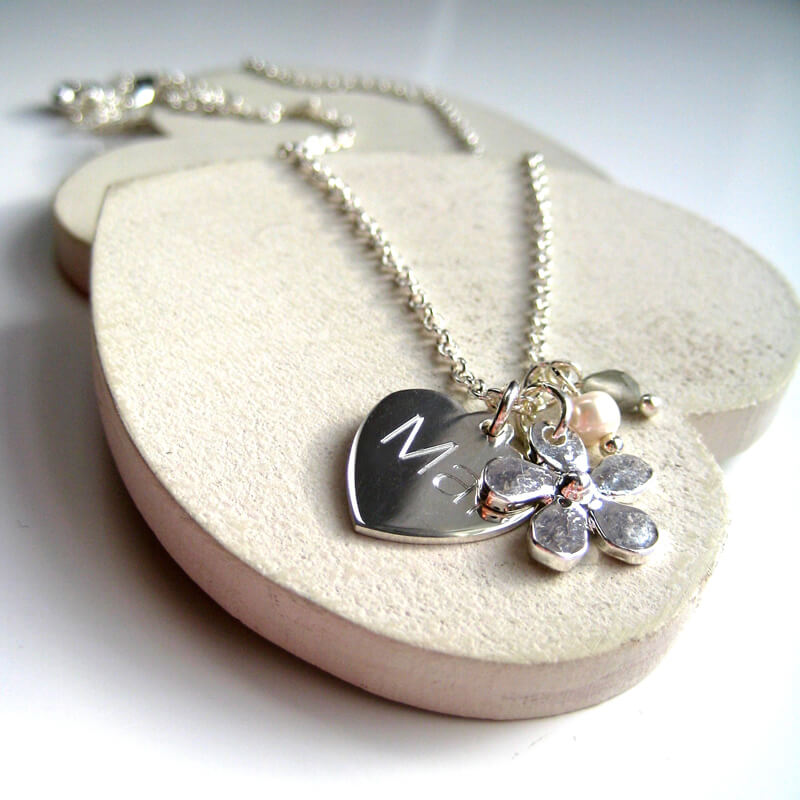 Personalised Daisy Necklace