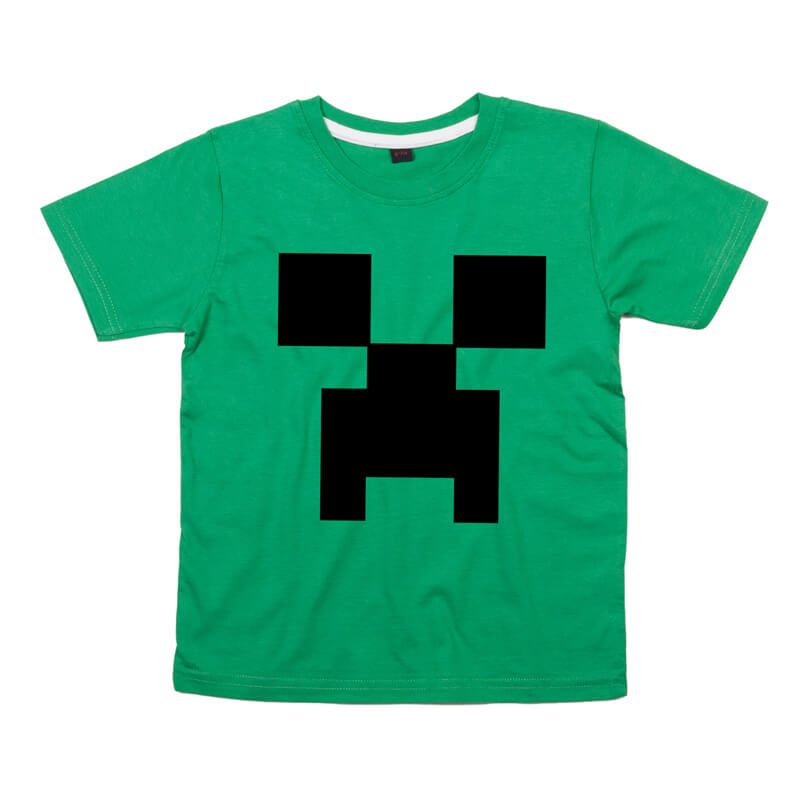 Personalised Minecrafter T-shirt