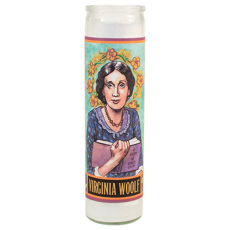 Secular Saints - Virginia Woolf Candle