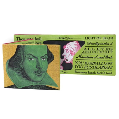 Shakespearean Insults Wallet