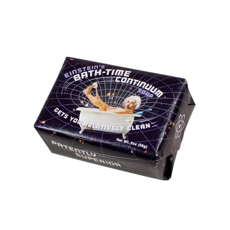 Einsteins Bath Time Continuum Transforming Soap