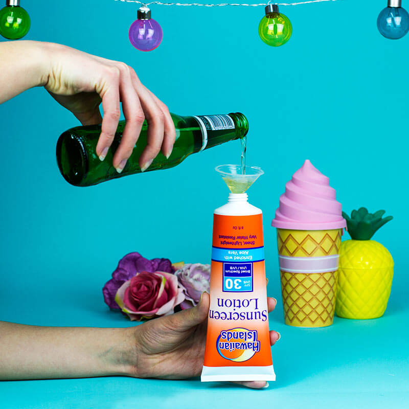 Smuggle Your Booze - Sunscreen