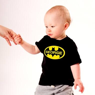 Personalised Batman T-Shirt