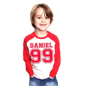 Personalised Raglan Shirt