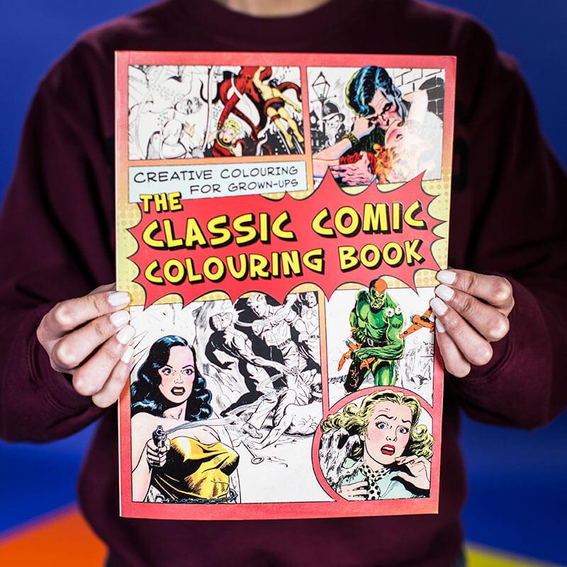 The Classic Comic Colouring Book