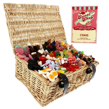 Personalised Gummy Delights Hamper