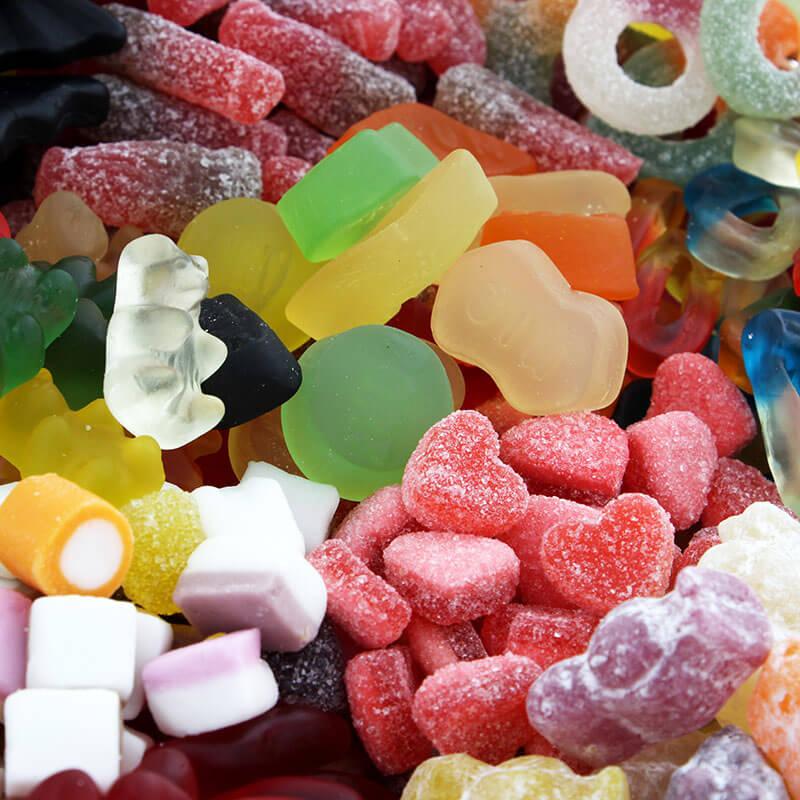 Personalised Gummy Delights Hamper