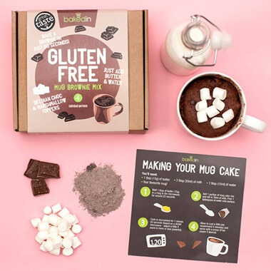 Gluten Free Mug Brownie Mix