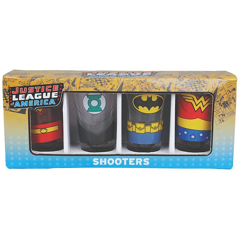 Justice League Shot Glasses