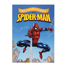 Personalised Spider-Man Adventure Book