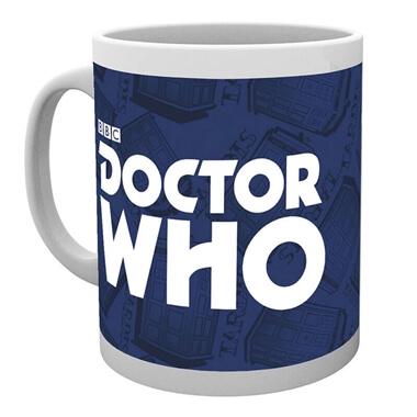 Doctor Who Logo Mug