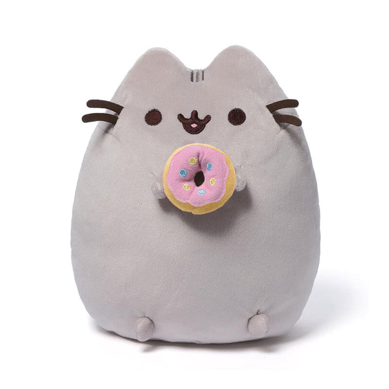 Pusheen with Donut