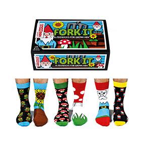 Fork It Mens Socks