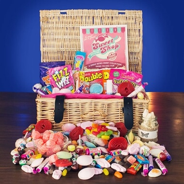 Personalised Retro Sweetie Hamper
