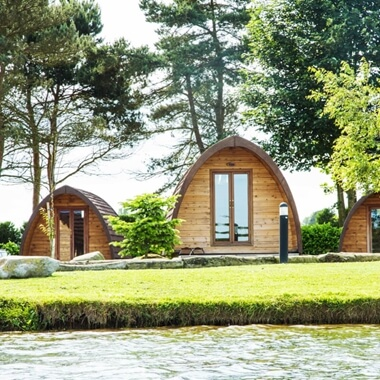 Two Night Break in a Private Camping Cabin at Lake Dacre