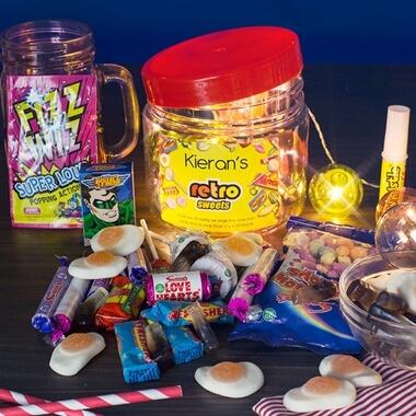 Personalised Retro Taster Jar