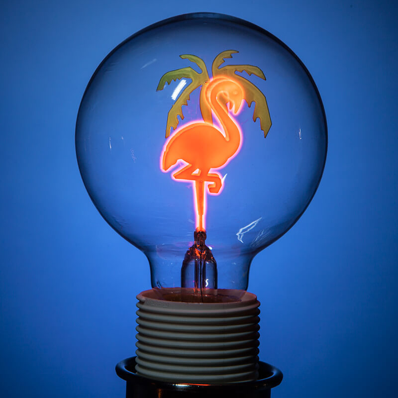 Flamingo Light Bulb