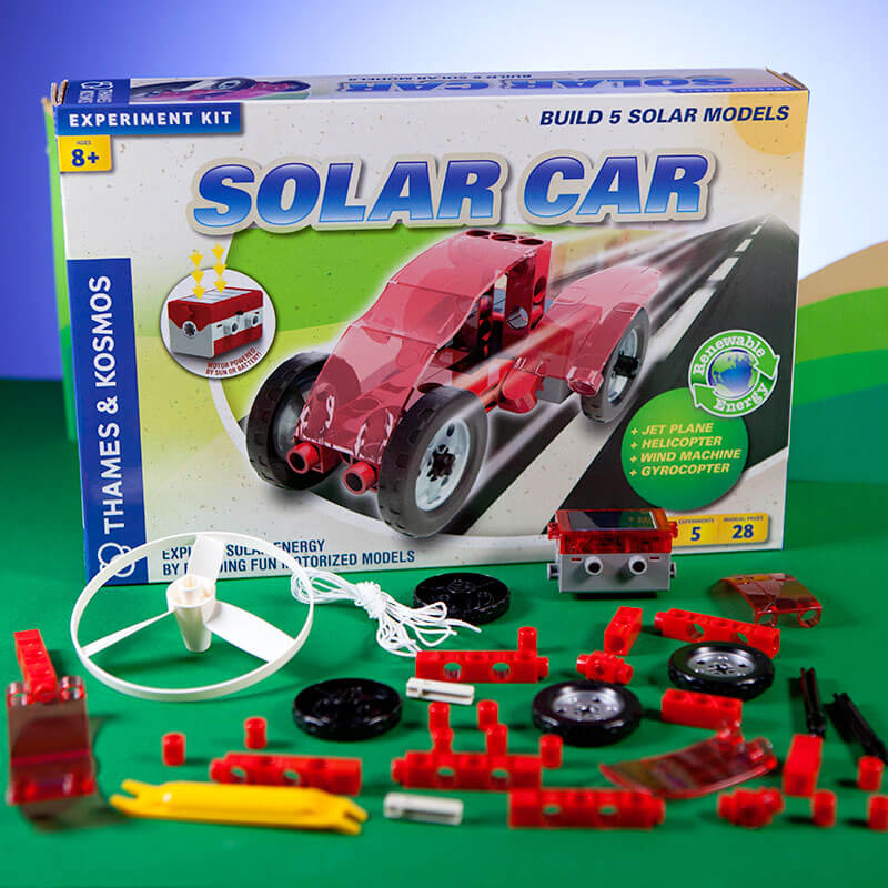Solar Car Experiment Kit