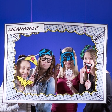 DC Comic Photobooth