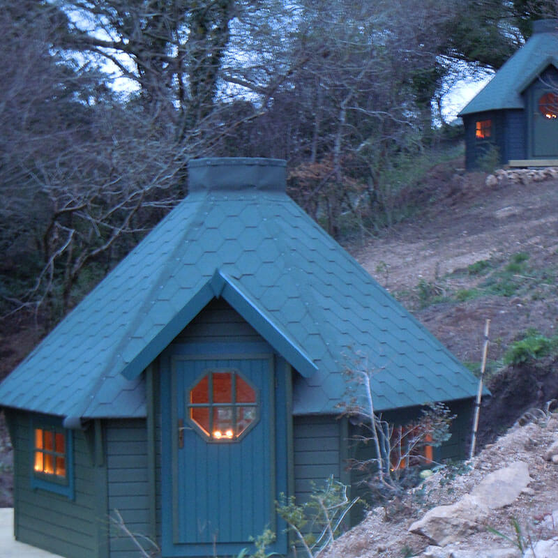 Overnight Stay in a Timber Yurt at Rivendale Caravan Park