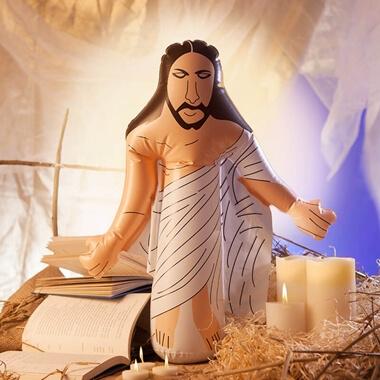 Inflatable Jesus