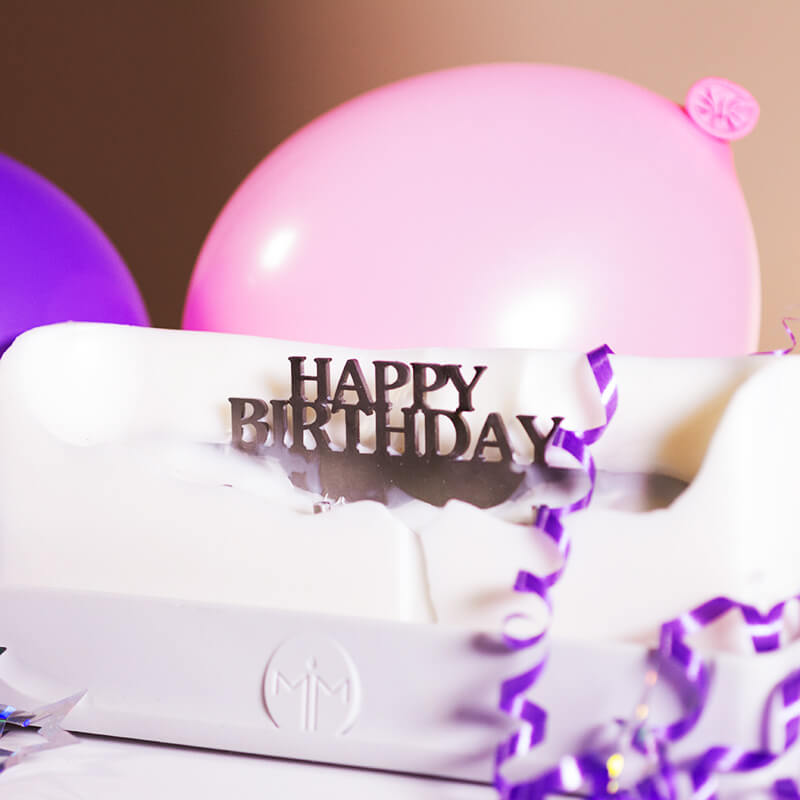 Melting Messages - Happy Birthday Candle