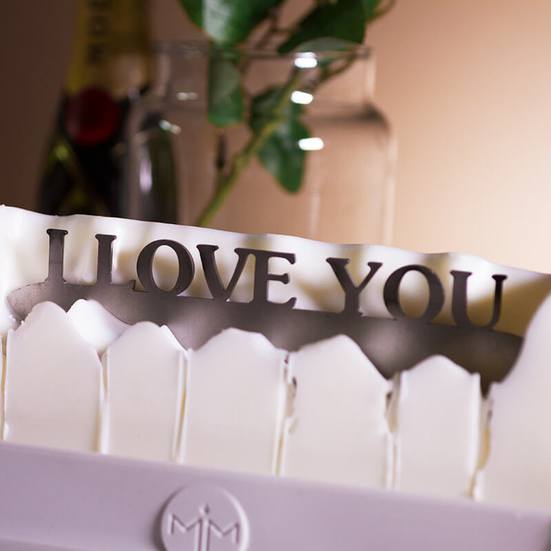 Melting Messages - I Love You Candle