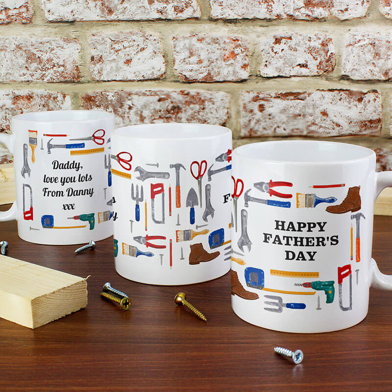 Personalised DIY Man Mug