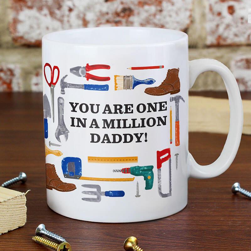 Personalised DIY Man Mug