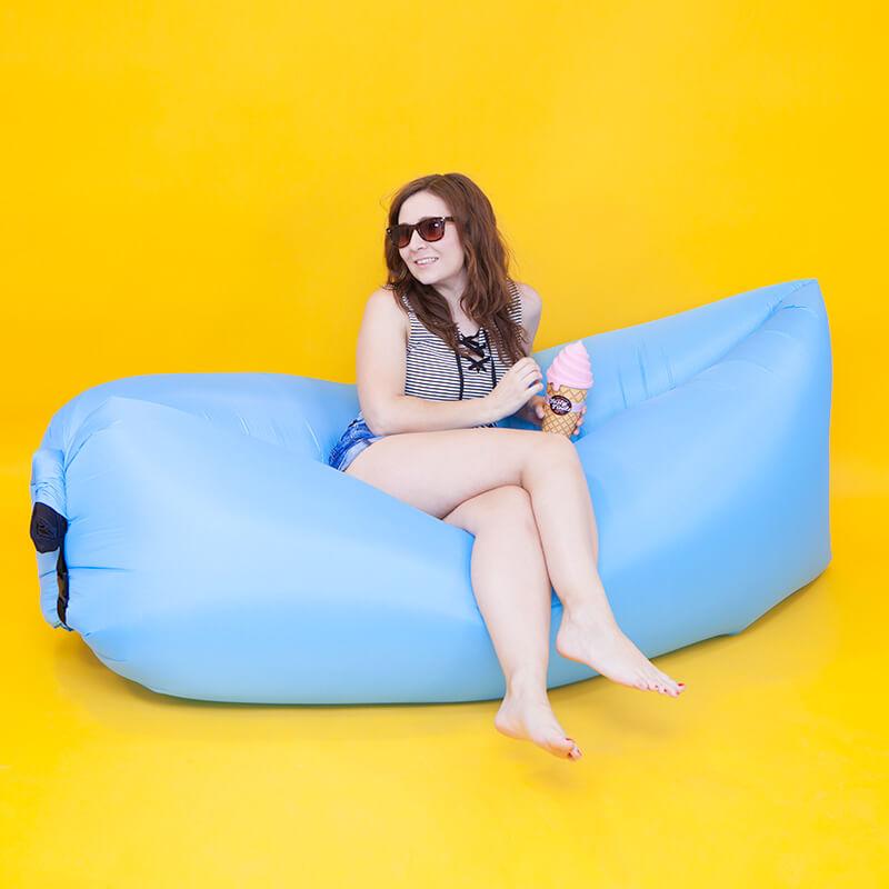 Breezy Bed - Blue
