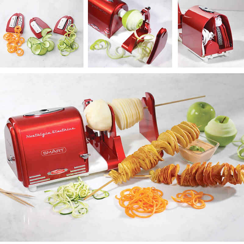 Retro Electric Spiralizer, Twister And Peeler
