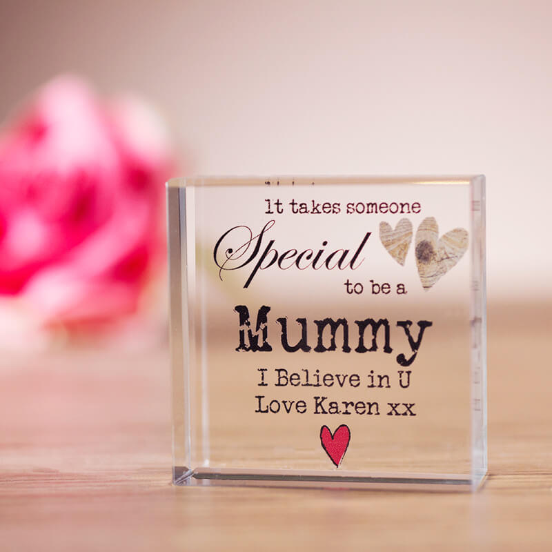Personalised Someone Special Crystal Block Buy From Prezzyboxcom