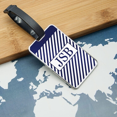 Personalised Monogrammed Luggage Tag