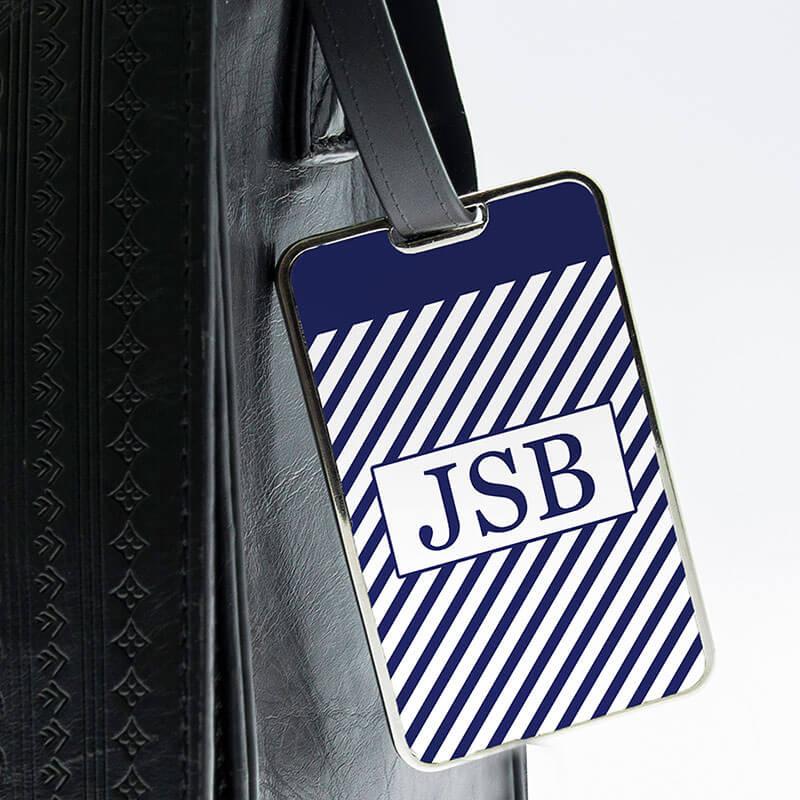 Personalised Monogrammed Luggage Tag