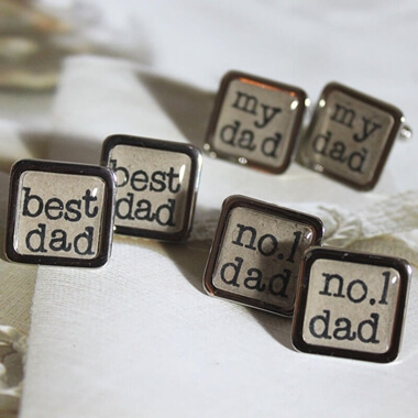 'Dad' Cufflinks