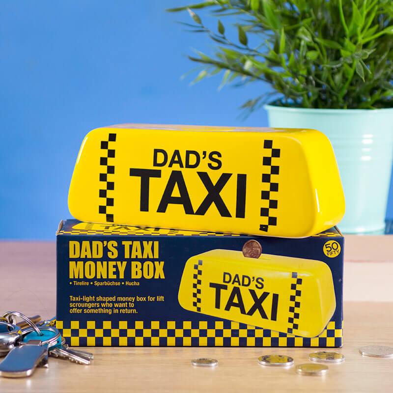 Dad's Taxi Money Box