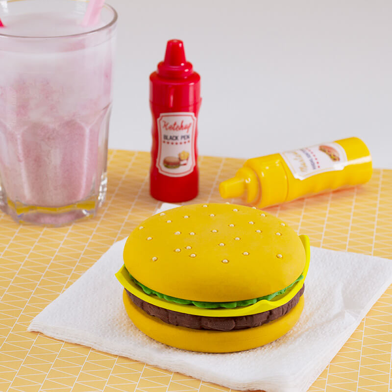 Burger Giant Eraser