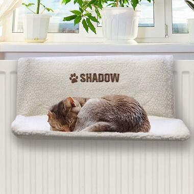 Personalised Cat Radiator Bed