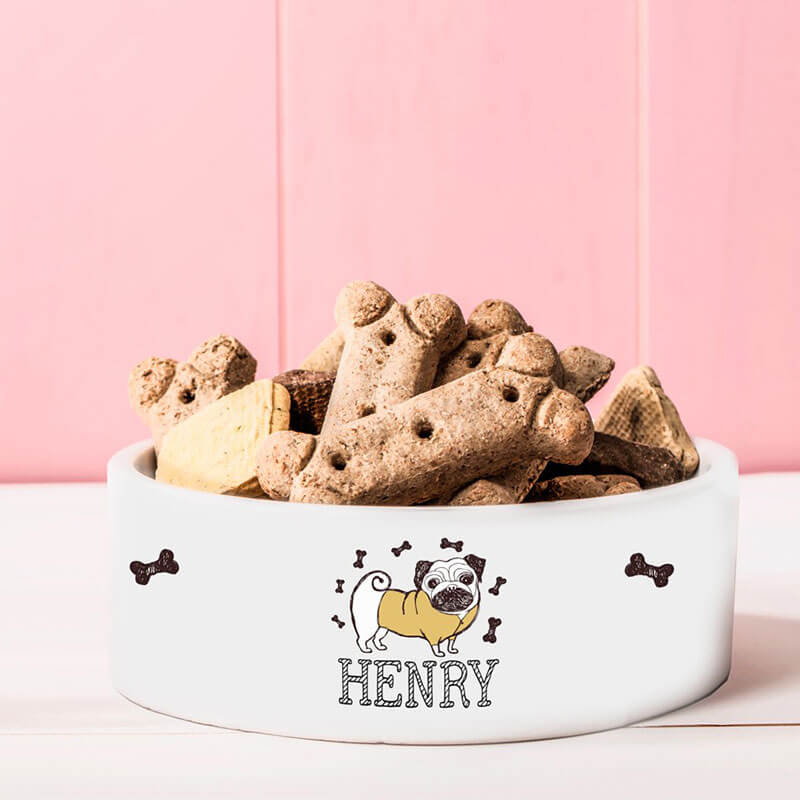 Personalised Dog Treat Bowl