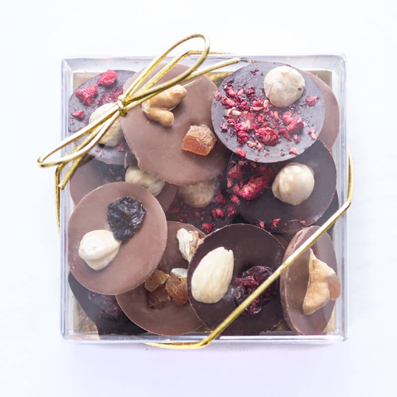 Fruit & Nut Chocolate Discs