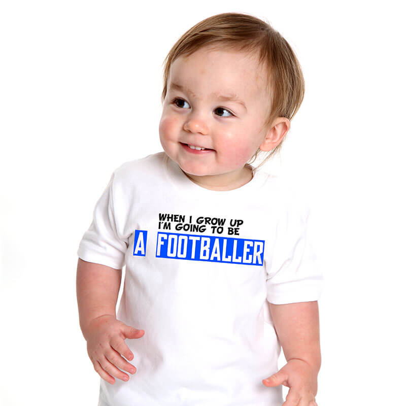 Personalised When I Grow Up Baby T-shirt