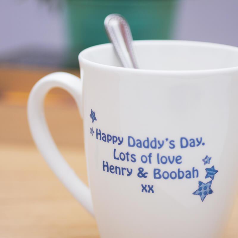 Personalised World's Best Daddy Mug