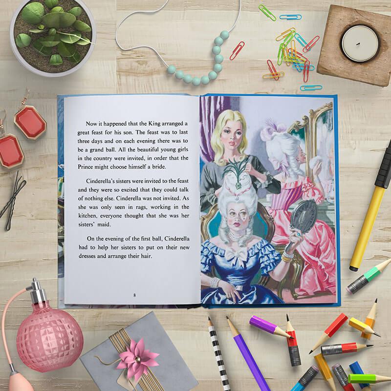 Personalised Ladybird Book of Cinderella