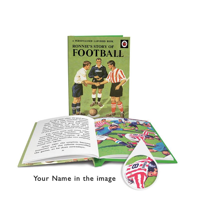 Personalised Ladybird Book of Football