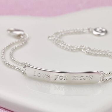 Personalised Signature Identity Bracelet