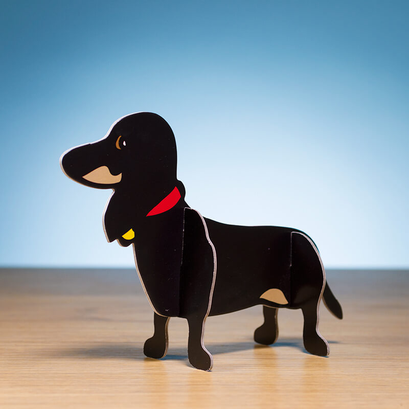 Dachshund Pop-Out